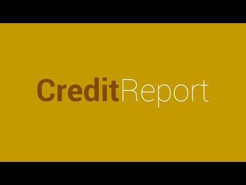 Credit Report: Request your free credit report