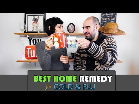 Best Home Remedy for Cold & Flu Season - Boost your immune system