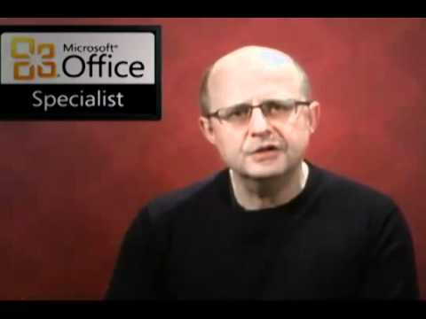 Certiport Microsoft Office Specialist Certification Programme