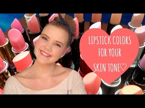 Lipstick Colors For Your Skin Tone!♡