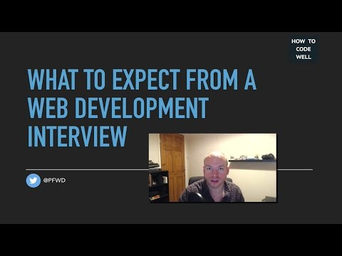 Expect These At Your Web Development Interview | Web Chat