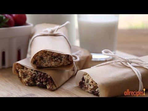 How to Make Easy Granola Bars | Healthy Snack Recipes | Allrecipes.com
