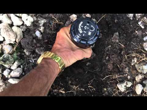 How to install a K2 sprinkler