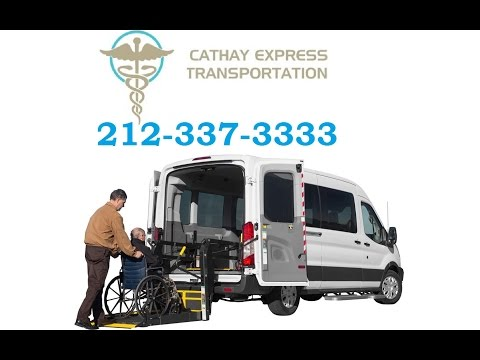 CATHAY EXPRESS TRANSPORTATION.Ambulette service. Handicap taxi. Wheelchair Transportation.