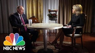 Confronting Russian President Vladimir Putin, Part 2 | Megyn Kelly | NBC News