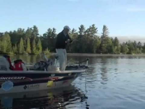 How to catch a Musky using bucktails and gliding jerk baits