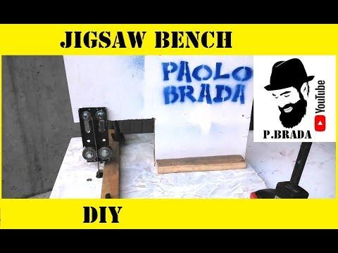 Jigsaw bench By Paolo Brada DIY