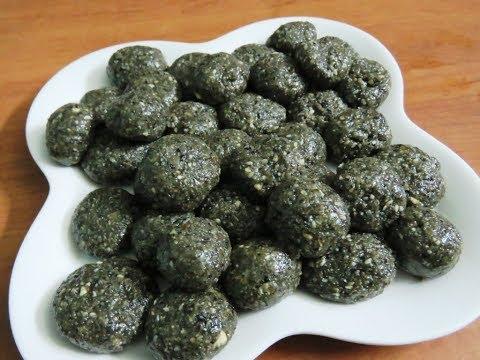 Healthy ellunda/sesame balls/nadan sweet