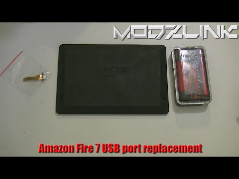 How to Replace the USB port on an Amazon Fire HD 7 2013 Tablet