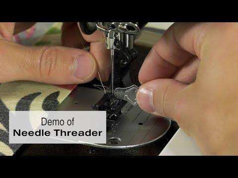 Demo of Needle Threader