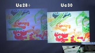 Unic UC30 Mini led Projector Unboxing and review