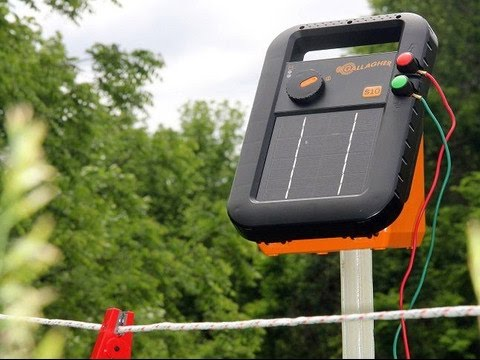 Buy Here! The Gallagher S10 Solar Powered Electric Fence Charger Review