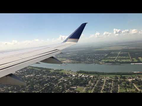 New Orleans to Houston on an Embraer 170