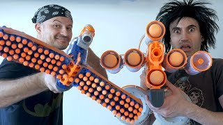 NERF WAR: 3 MILLION SUBSCRIBERS!!