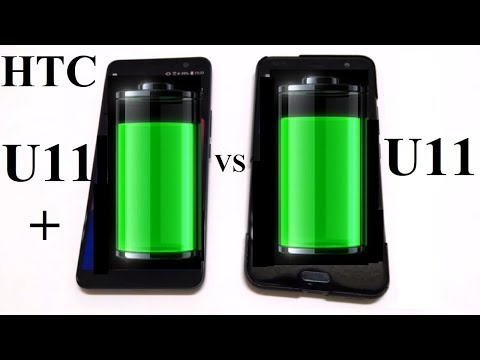 HTC U11+ vs HTC U11 : BATTERY DRAIN TEST