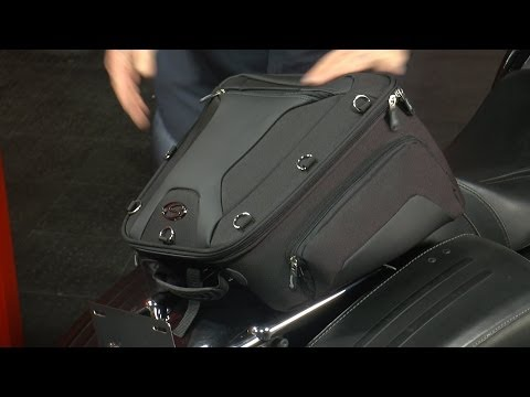 Saddlemen Tunnel Tail Bag for Motorcycles - Available at J&P Cycles