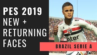 PES2019 | 42 NEW FACES Added to DATA PACK 3 - Vidly xyz