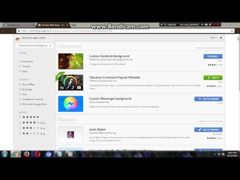 How to Change Facebook Background Theme or Picture 2016