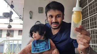 When dad takes care of baby, Vedhu's daily routine #OHF #spreadhappiness