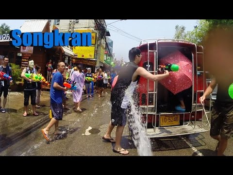 Songkran Water Festival 2015 Day 1