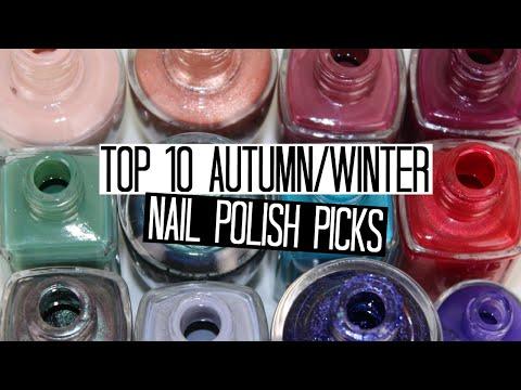 my favorite fall winter nail polishes top nail polish colors