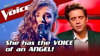 This Beautiful, ANGELIC voice MOVES the coaches in The Voice