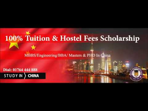 Study-Scholarship At Public Universities in China