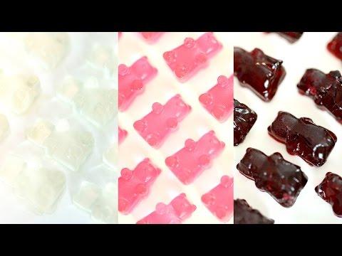 DIY Wine Gummy Bears | Rose Wine, White Wine & Red Wine | RECIPE