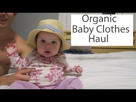 Organic Baby Clothes Haul - Used Baby Stuff