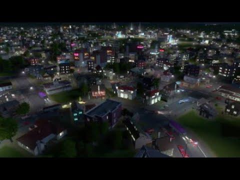 Cities - skyline PS4 SIMCITY STYLE SANDBOX GAME 1080p Gameplay infinite money
