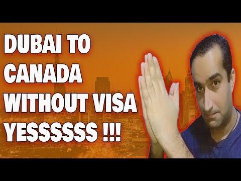 Dubai To Canada Visa Free Entry Really