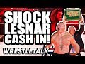 SHOCK WWE Money In The Bank Cash In WWE Extreme Rules 2019 Review WrestleTalk