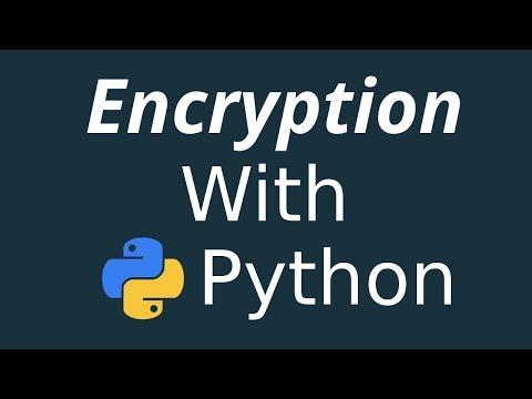 Python Programming: Encryption with python   Python hashlib hindi tutorial