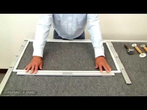 How-To: Re-screening a fiberglass window screen.