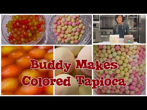 How to Make Colored Tapioca Boba for Bubble Tea