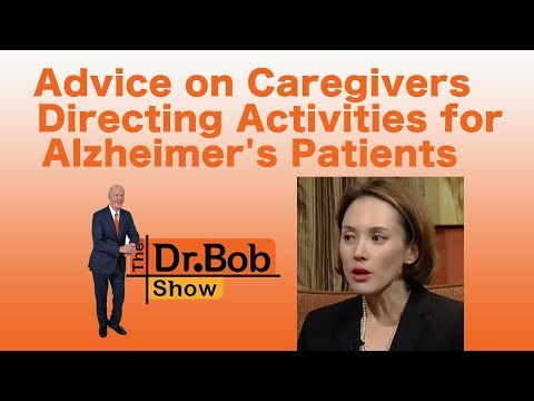 Advice on Caregivers Directing Activities for Alzheimer's Patients
