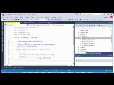 Web API - Creating a Controller with a Parameter