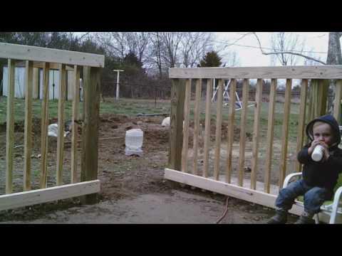 $200 Deck railing weekend build & Hydroponic update