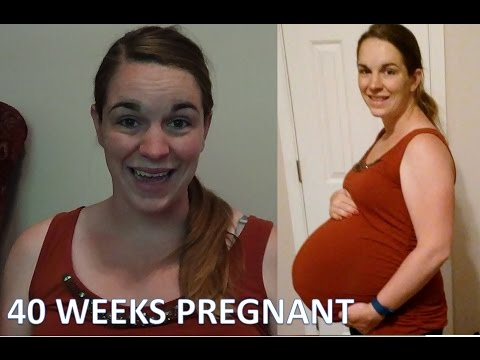 40 WEEKS PREGNANT! [OVERDUE! BIG BABY! and INDUCTION?]