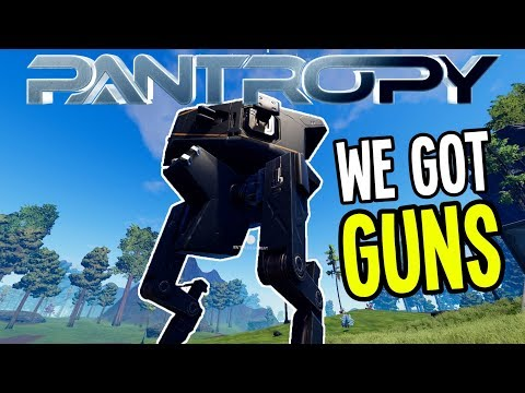 SCOUT MECH MACHINE GUN and ASSAULT RIFLE - Pantropy Gameplay - Ep 4