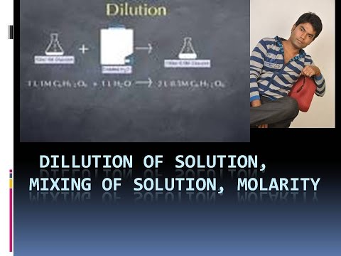Dillution of solution | mixing of solution || IIT JEE | NEET |CLASS 11| STOICHIOMETRY 4