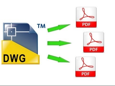 Convert DWG to PDF in Autocad - new 2016 | how to save autocad drawing as PDF