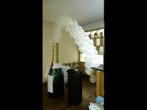 Champagne & Bubbles Balloons