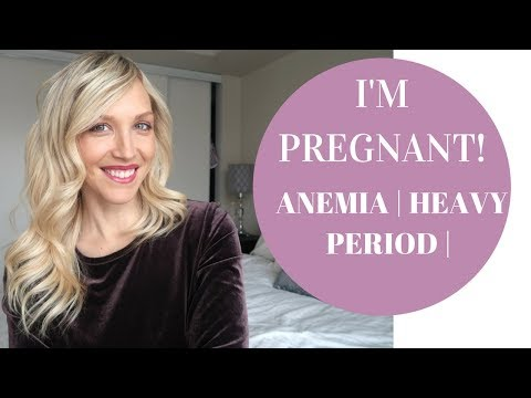 I'M PREGNANT! | HOW HEAVY PERIOD AND ANEMIA AFFECTS PREGNANCY