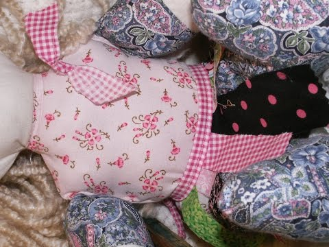 How To Make A Super Easy Rag Doll Apron