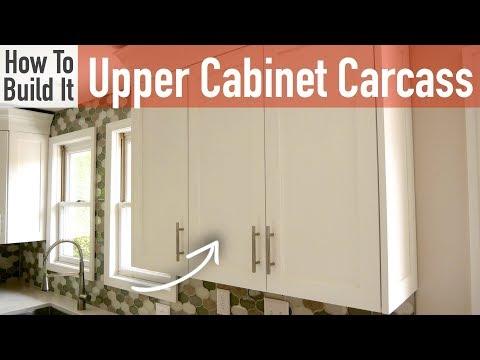 DIY 30in & 15in Upper Cabinet Carcasses (Frameless)