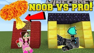 Minecraft: NOOB VS PRO!!! - BOMB SURVIVAL! - Mini-Game
