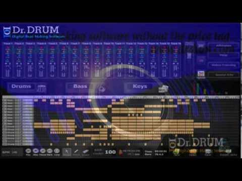 Make your own song with your laptop and Dr Drum