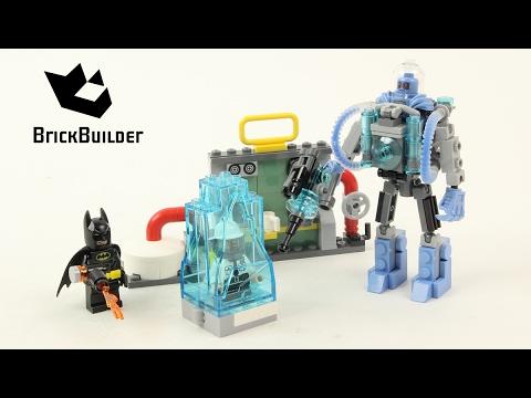 Lego Batman Movie 70901 Mr. Freeze Ice Attack - Lego Speed Build