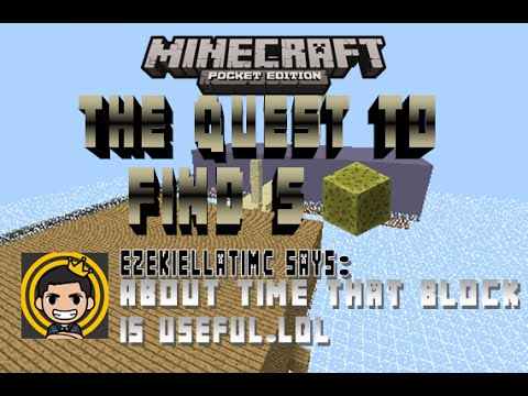 [0.11.0] Minecraft: Pocket Edition | The Quest to Find 5 Sponges [Short Adventure Map]
